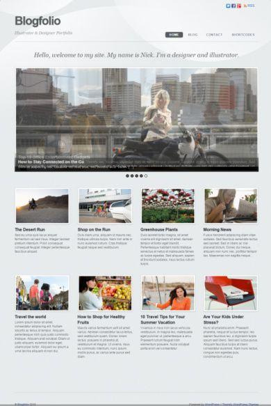 Blogfolio Review Themify WordPress Blog Portfolio Theme