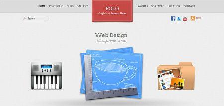 Folo Business WordPress Theme : Themify