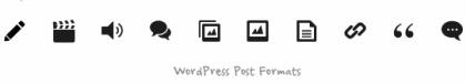 Post Formats Elemin blog theme