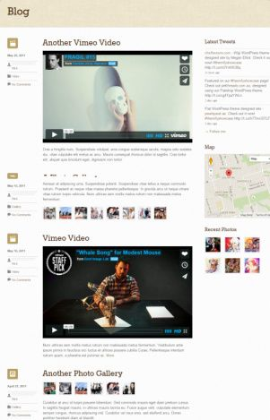 Blog Suco WordPress Theme