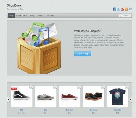 ShopDock Demo : Themify eCommerce WordPress Theme