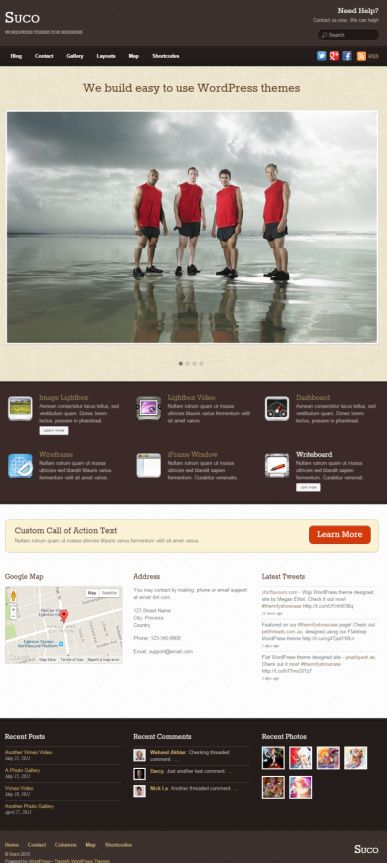 Suco Review : Themify Business WordPress Theme
