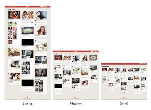 Multiple Grid Layout Options - Pinboard Theme