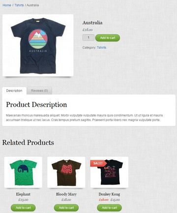 Product Page Features - Shopo eCommerce Theme