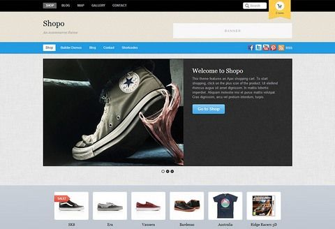 Shopo eCommerce WordPress Theme : Themify
