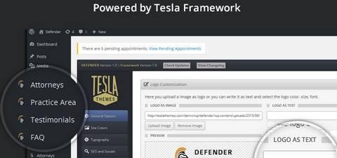 TeslaThemes Framework Defender Theme