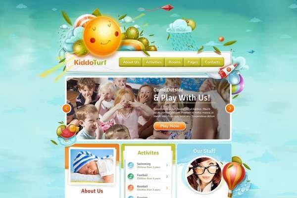 ThemeFuse KiddoTurf : Best Kids WordPress Theme