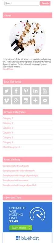 Sidebar Widgets - Banners, Social links