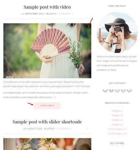 Blog Quinn Theme