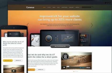 Conexus Business WordPress Theme : ThemeFuse