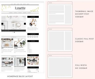 Homepage Layouts Lynette