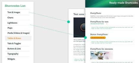 Shortcodes - Conexus ThemeFuse Portfolio Theme