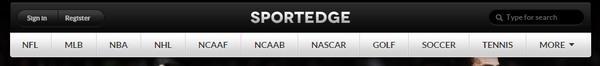 Header Menu - ThemeFuse Sportedge