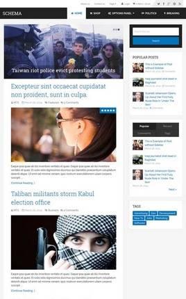 MyThemeShop – Schema WordPress Theme for Bloggers