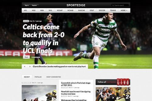ThemeFuse SportEdge : Sports Magazine WordPress Theme