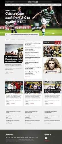 SportEdge WordPress Theme Demo - ThemeFuse