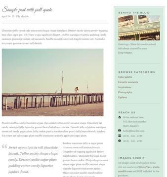 Blog – Geraldine Theme