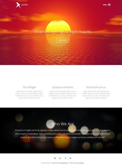 Pulse Review Viva Themes Demo - Business WordPress Theme