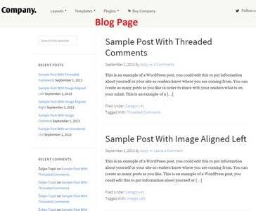 Blog Page – Company