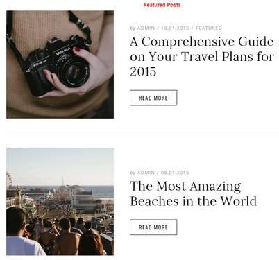 Featured Posts - Dicot WordPress Theme