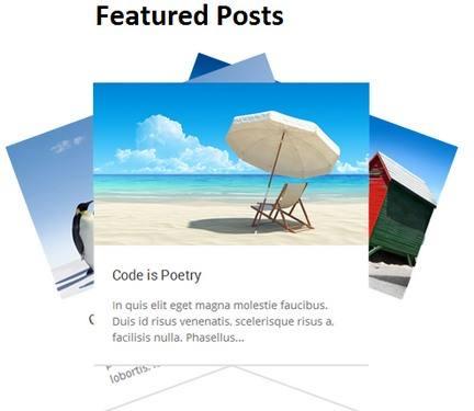 Featured Posts - Premium WP blogging theme