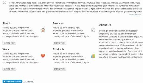Featured Services Section - Tanjun homepage demo
