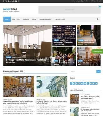 CSSIgniter Noozbeat : Magazine WordPress Theme