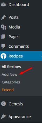 Recipe Plugin Simmer Options