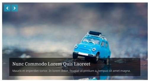 Slideshow Homepage - Antenna Theme DesignOrbital