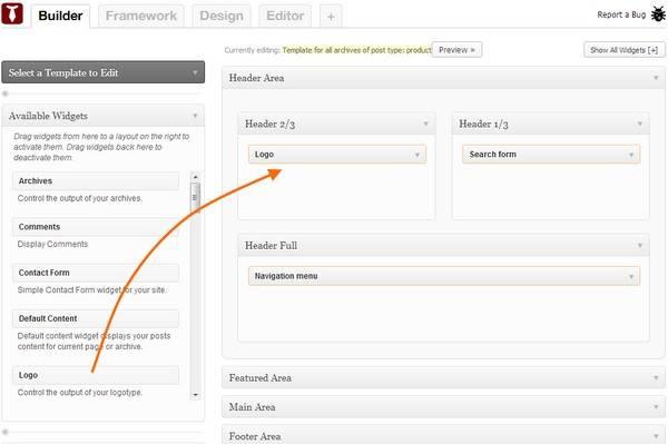 Template Homepage Builder - BizzThemes