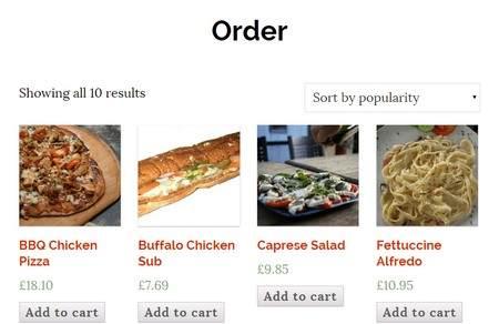 Woocommerce Support - Accept Online orders for restaurants