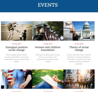 Events Page – Coup