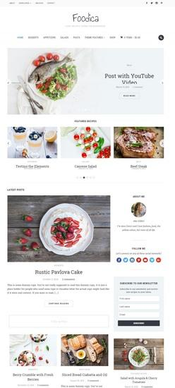 Foodica Review – WPZOOM Food Recipes Blog Theme for WordPress