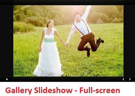 Gallery Slideshow FullScreen