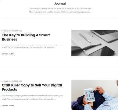 Journal – Digital Pro WordPress Genesis Theme