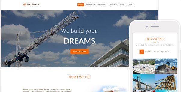 Megalith – TeslaThemes : Construction WordPress Theme