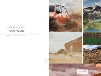 Portfolio Page - Duality TeslaThemes