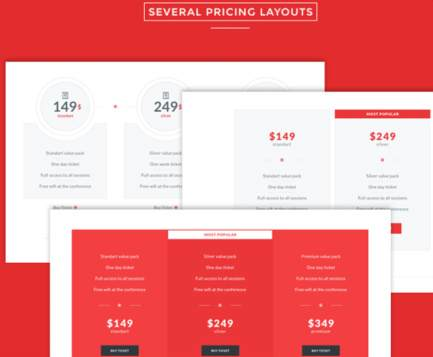 Pricing Page Layouts