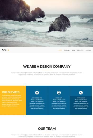 Sol Review Viva Themes - Portfolio Business Agency WordPress Theme