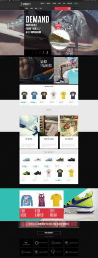 Sportify Theme Demo - TeslaThemes Gym Fitness Theme for WordPress