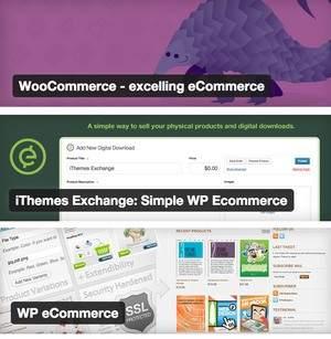 WooCommerce iThemes-Exchange WP-eCommerce