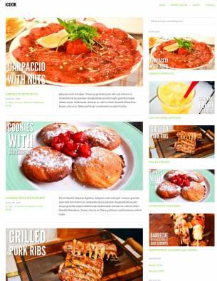 iCook TeslaThemes : WordPress Food Recipe Theme