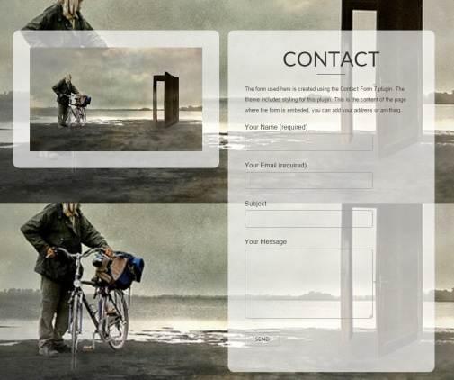 Contact Page - O2 theme