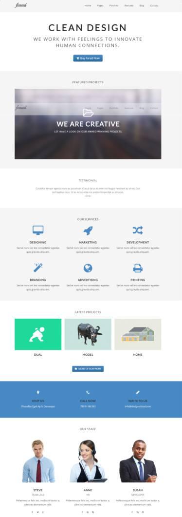Farad Pro DesignOrbital – MultiPurpose WordPress Theme