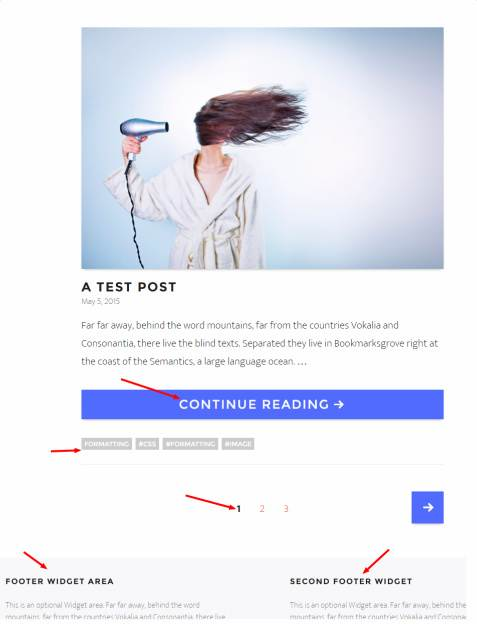 Featured Post - Happy Hipster Theme RichWP