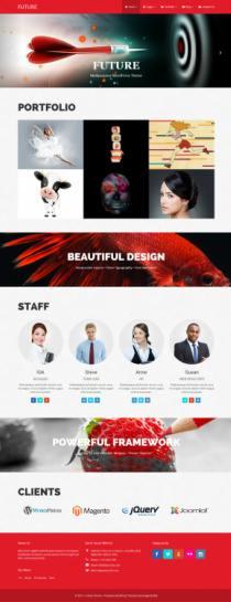 Future Demo - DesignOrbital Premium WordPress Theme