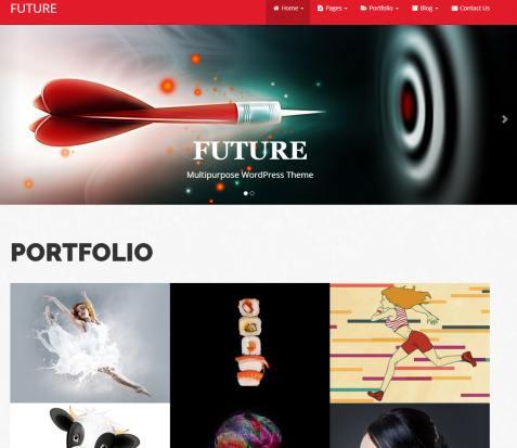 Future Pro Review - DesignOrbital WordPress Theme for Business and Portfolio