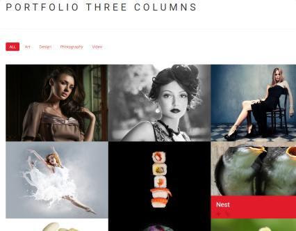 Portfolio Three Columns - FUTURE Pro