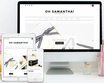 Responsive - Samantha WooCommerce Theme