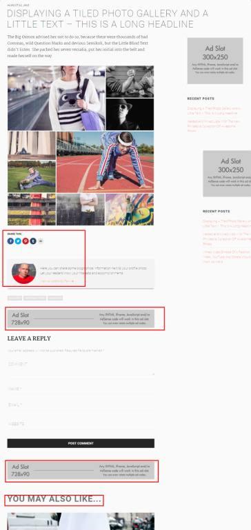 Sample Post – Rich Fashion Blogging Theme